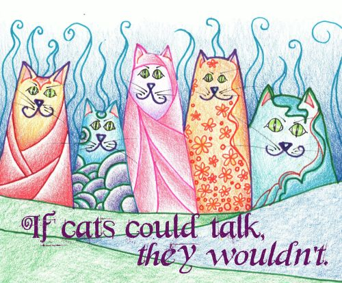 cats could talk